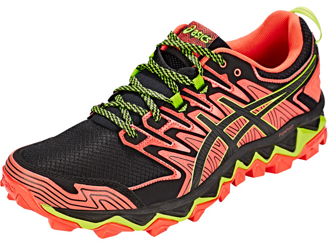 asics Gel-FujiTrabuco 7 Chaussures Homme, red snapper/black